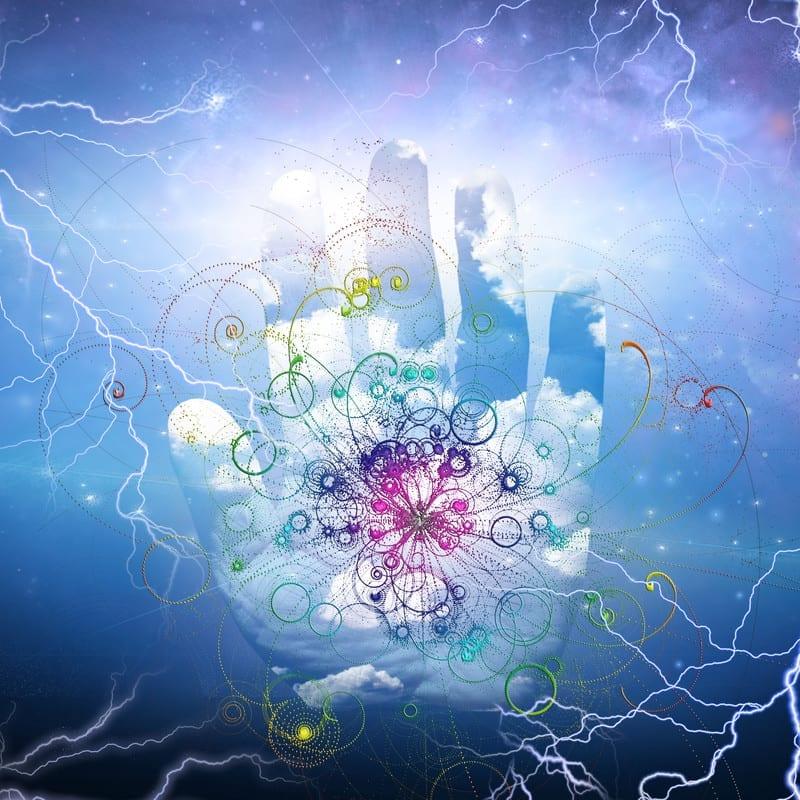 molecular hydrogen hand