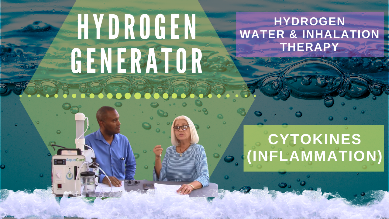 hydrogen and cytokines